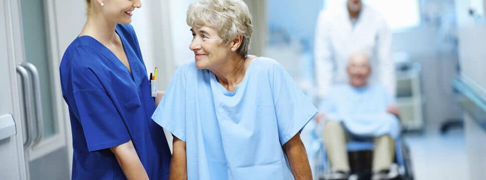 Услуги по уходу и восстановлению пациентов после серьезных операций