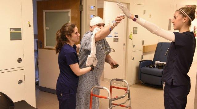 Реабилитационные услуги пациентов перенесших инсульт